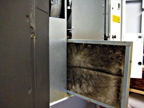 ventilationsfilter och pollen